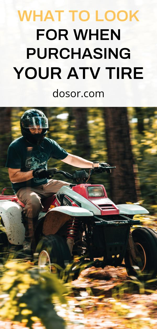 , What to Look for When Purchasing Your ATV Tire